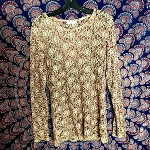 Barney's New York Lace Top